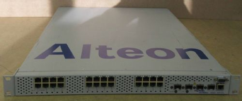 Nortel Networks Alteon 2424-SSL 1U Multi-Application Switching System Switch